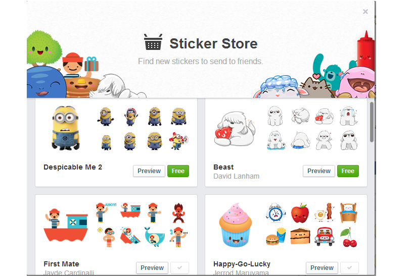 2020 Other | Images: Facebook Messenger Stickers Meaning