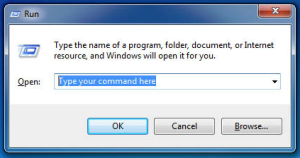 Run commands for Windows XP, Vista, 7 and 8