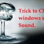 Change windows startup sound