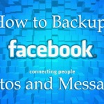 Backup Facebook Messages and Photos