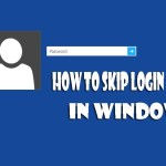 How to skip Login screen in Windows