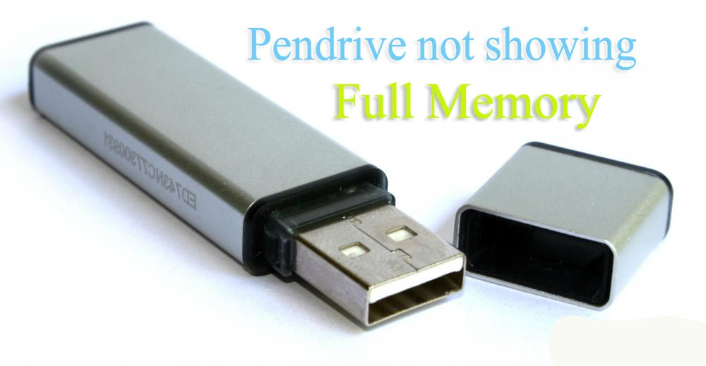 Pen-drive-not-showing-full-capacity
