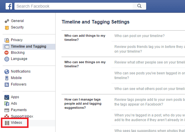 Disable Autoplay Videos in Facebook