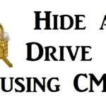 How to Hide a Drive in Windows using CMD