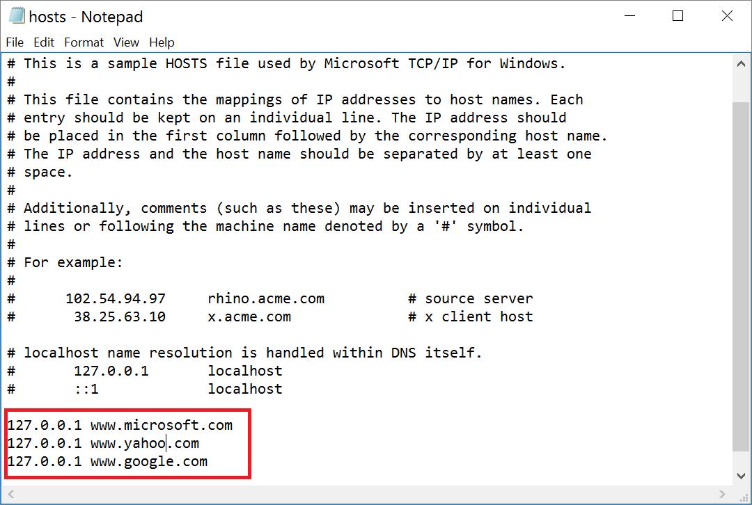 host-file-edit