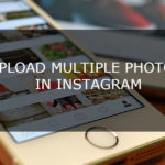 How to upload Multiple Photos in Instagram