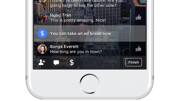 facebook ad break