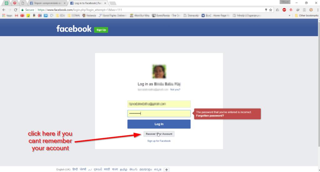 Recover-facebook-account
