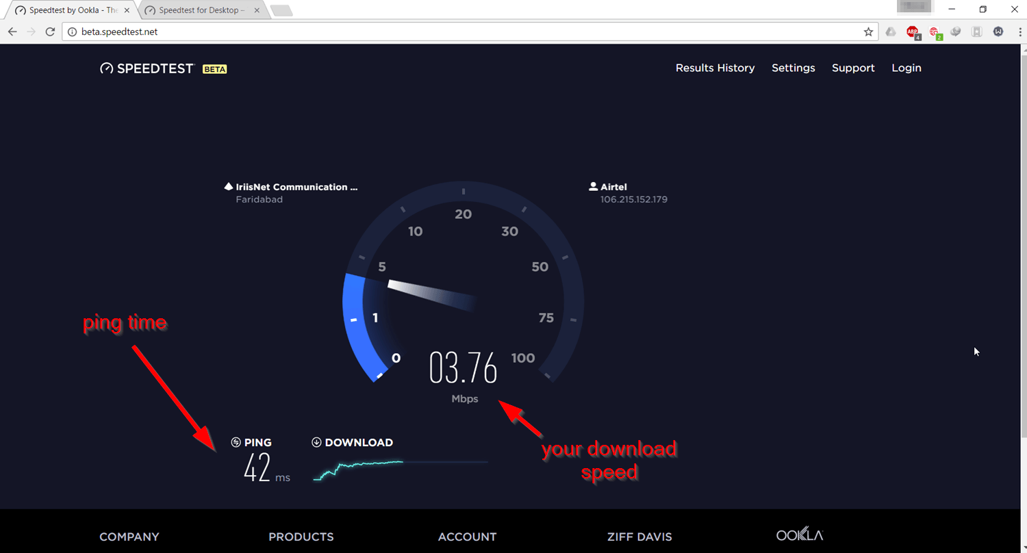 check-download-upload-speed