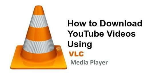 Download youtube videos using VLC