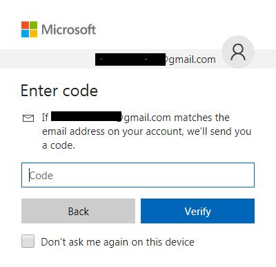 Delete skype- enter code