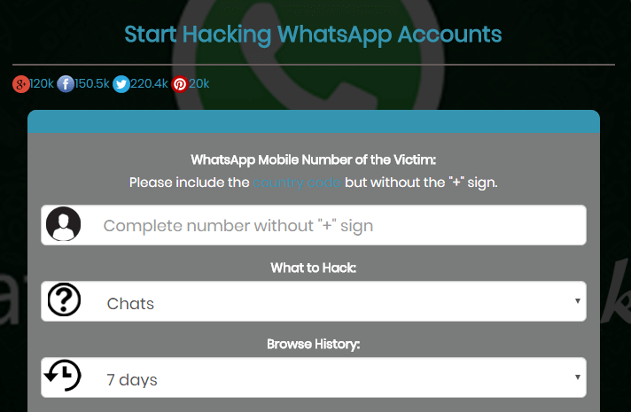 How to Hack WhatsApp (Using Wapphacker + 2 new Methods) - Waftr com