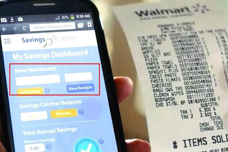 App- walmart savings catcher