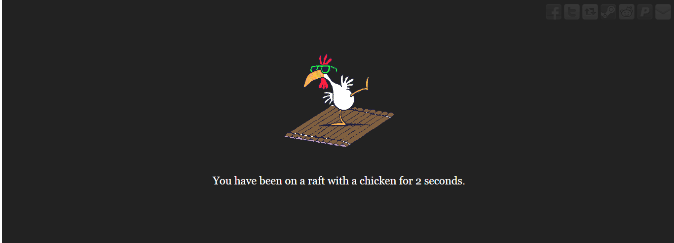 Chicken On the Raft