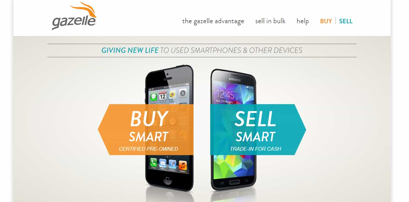 Gazelle - Sell Old Phones Online