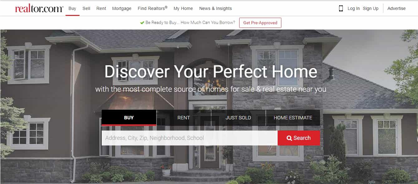 Realtor - Top Real Estate Website