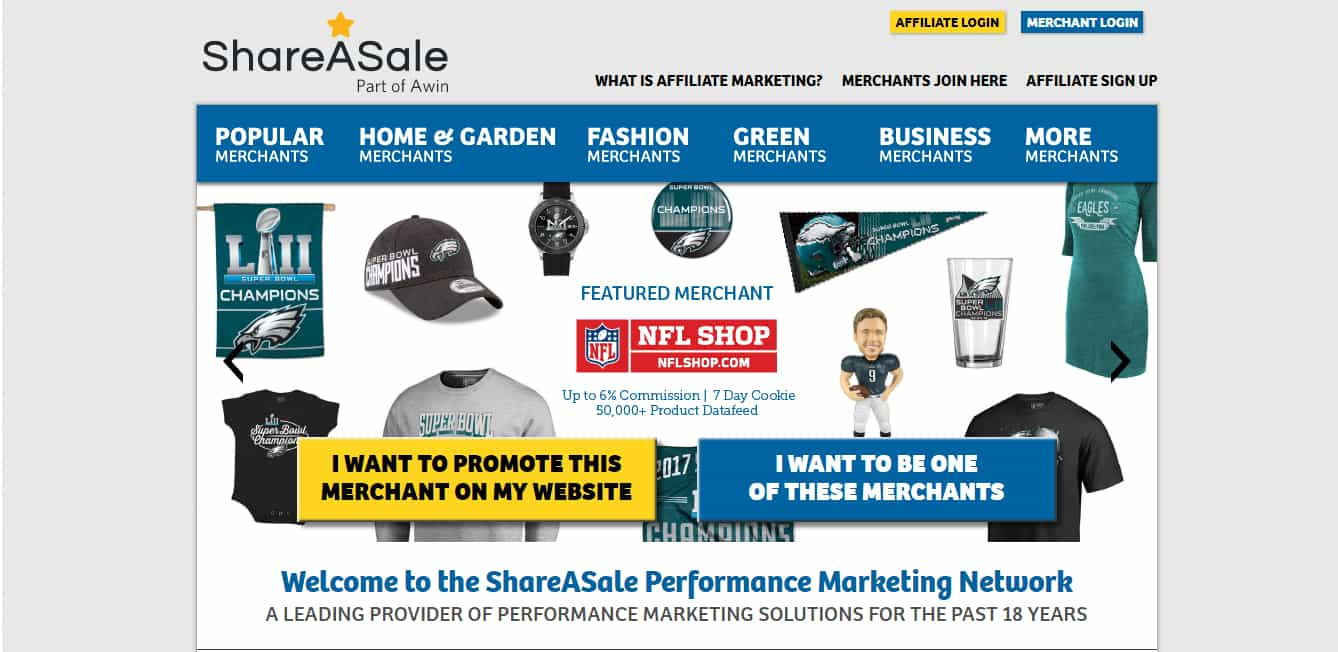 ShareASale - Make Money Online By Blogging - Affiliate Marketing