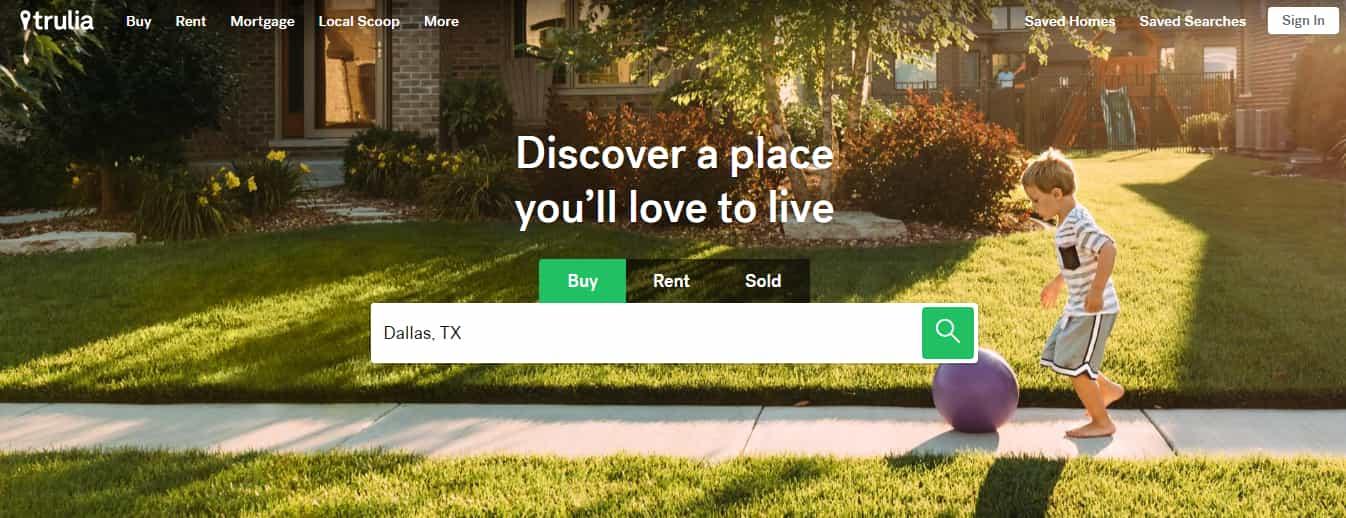 Trulia - Top Real Estate Website