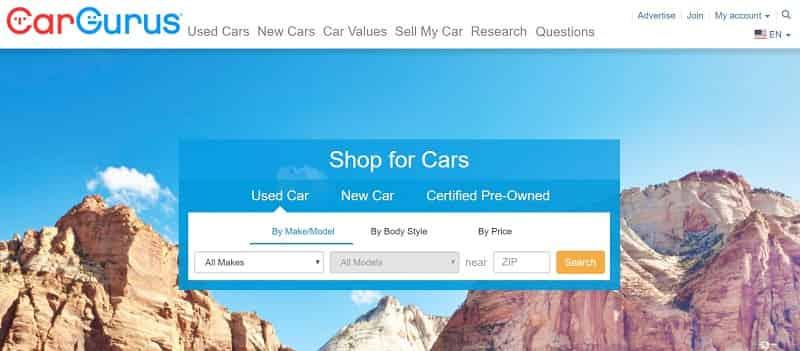 cargurus used cars