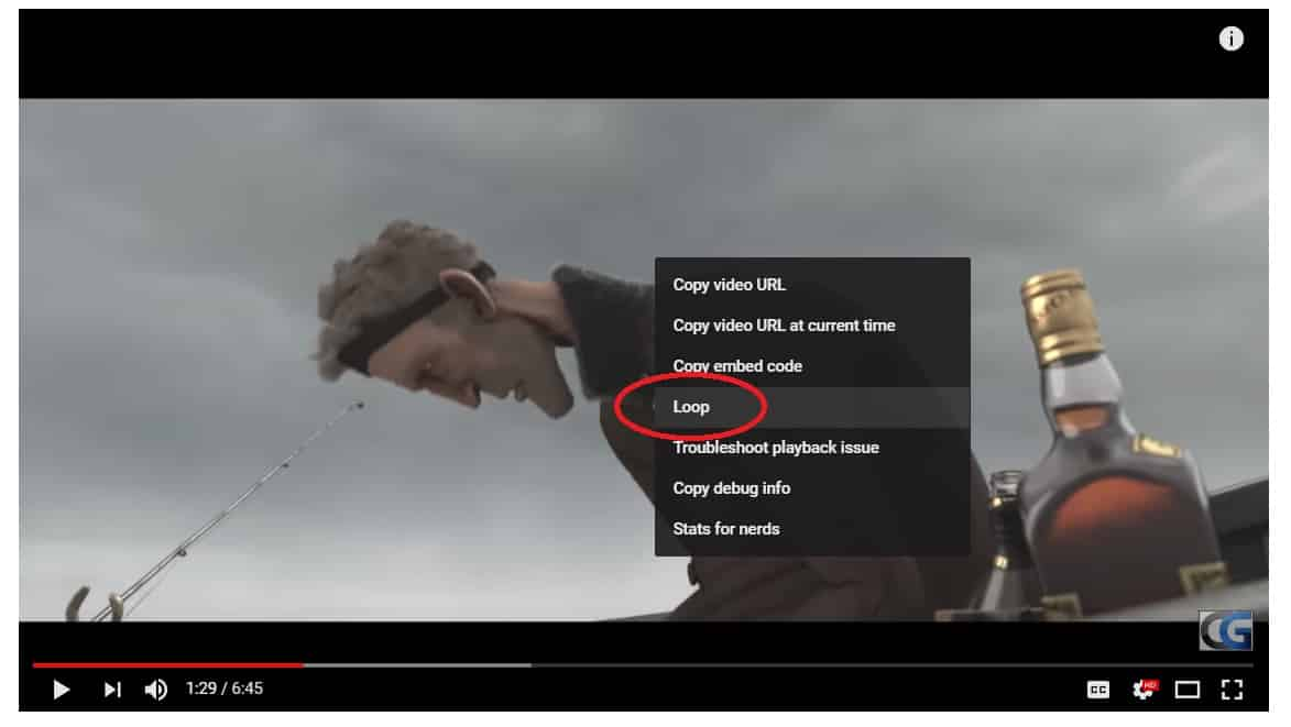 How To Loop a Video on YouTube? - Waftr com
