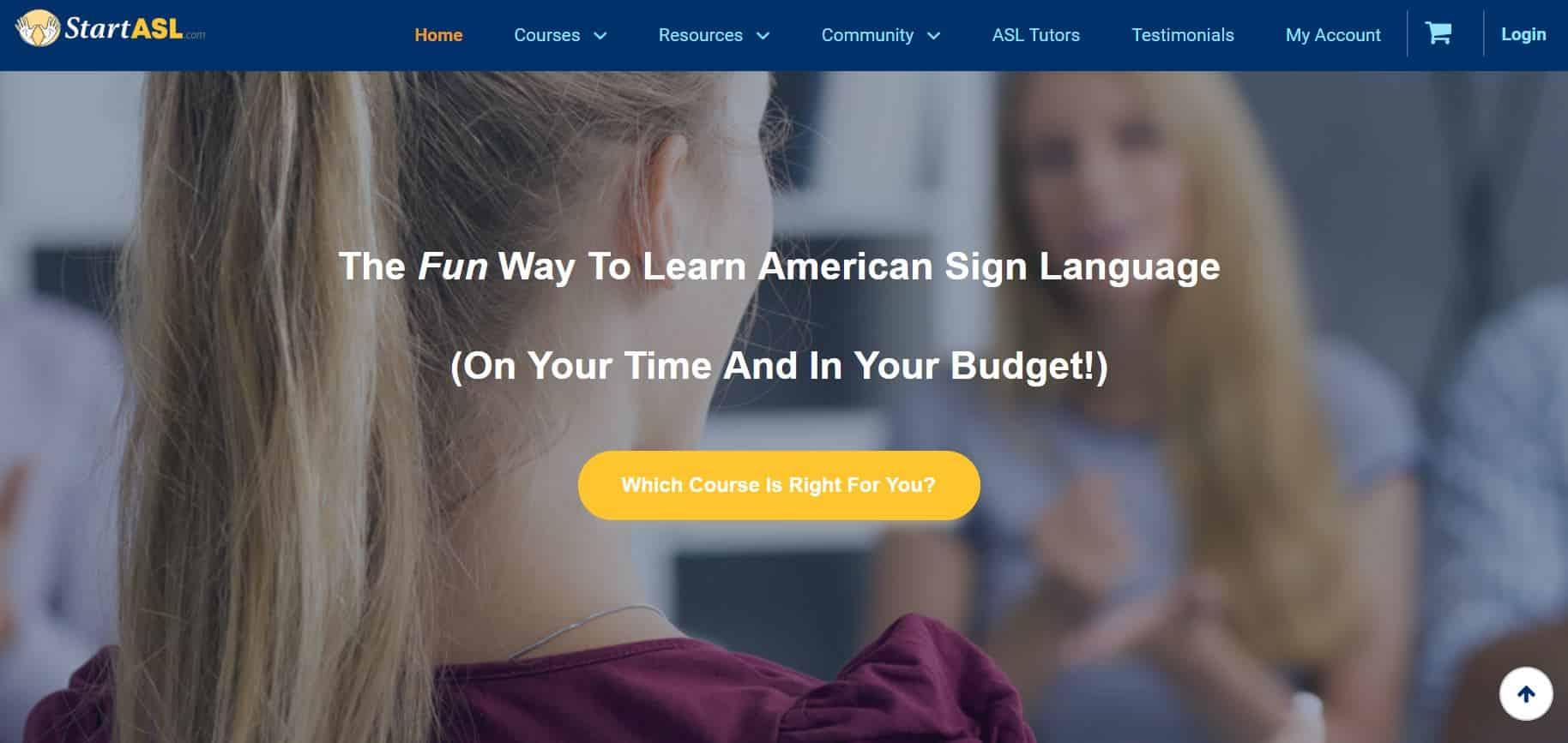 sign language website