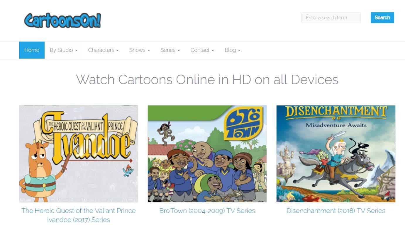 Cartoonson - watch cartoons online free