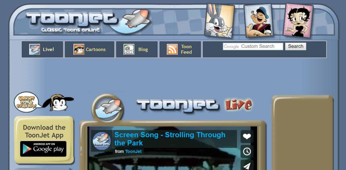 Toonjet - cartoon online