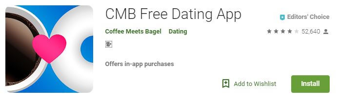 CMB free Dating app like Tinder