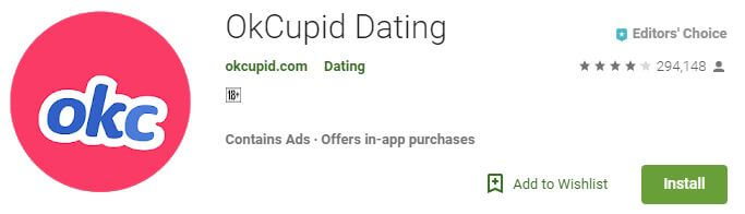 OKCupid Dating - Apps like Tinder