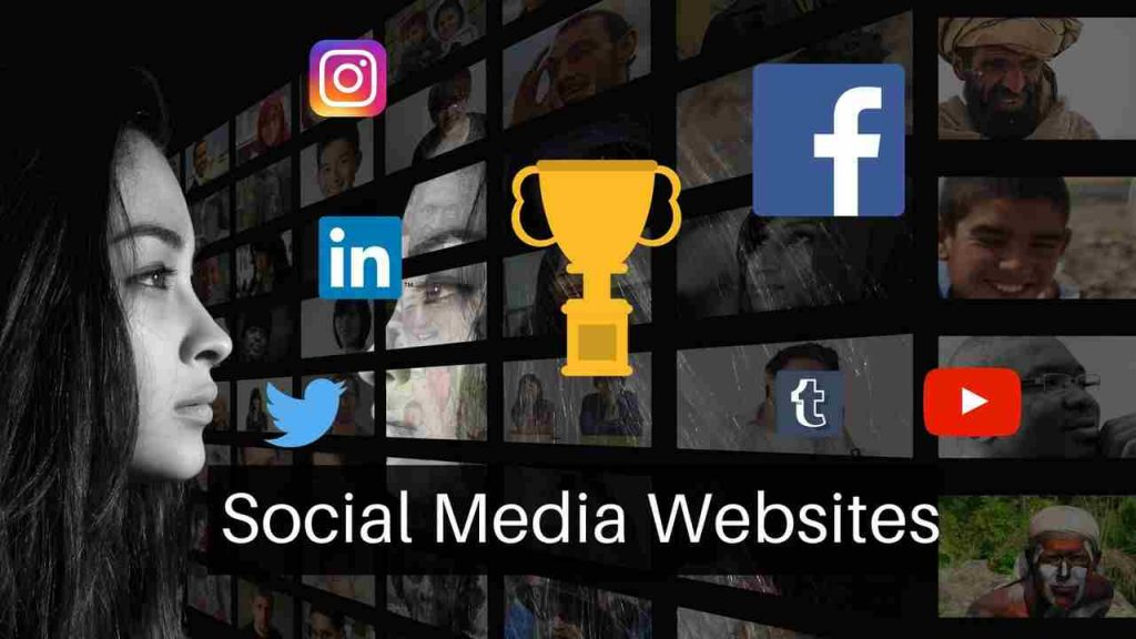 Top social media websites