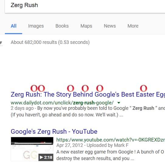 Zerg Rush game