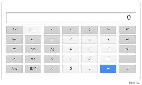 Google Calculator
