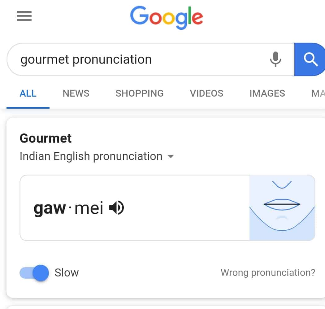 Google-pronounciation