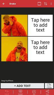 Meme Generator - add text