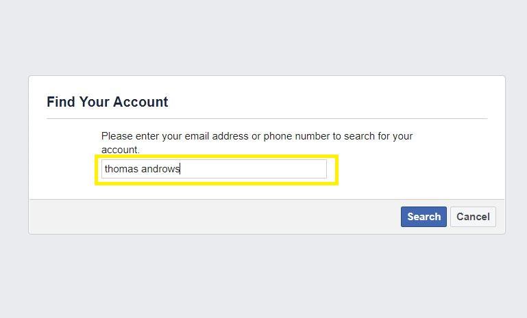 Check Facebook username