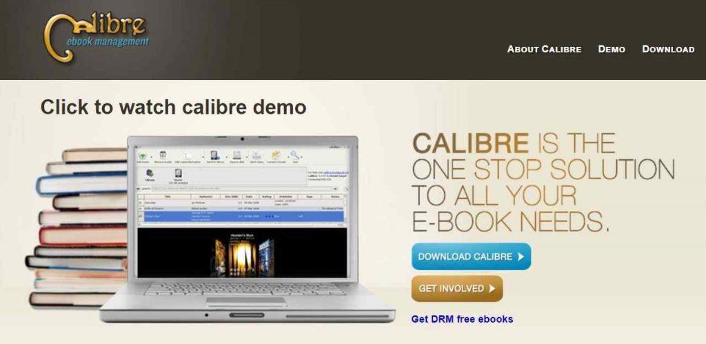 Calibre-Epub-reader