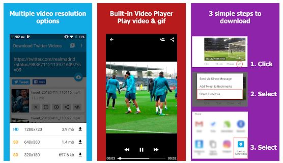 Download Twitter Videos Android