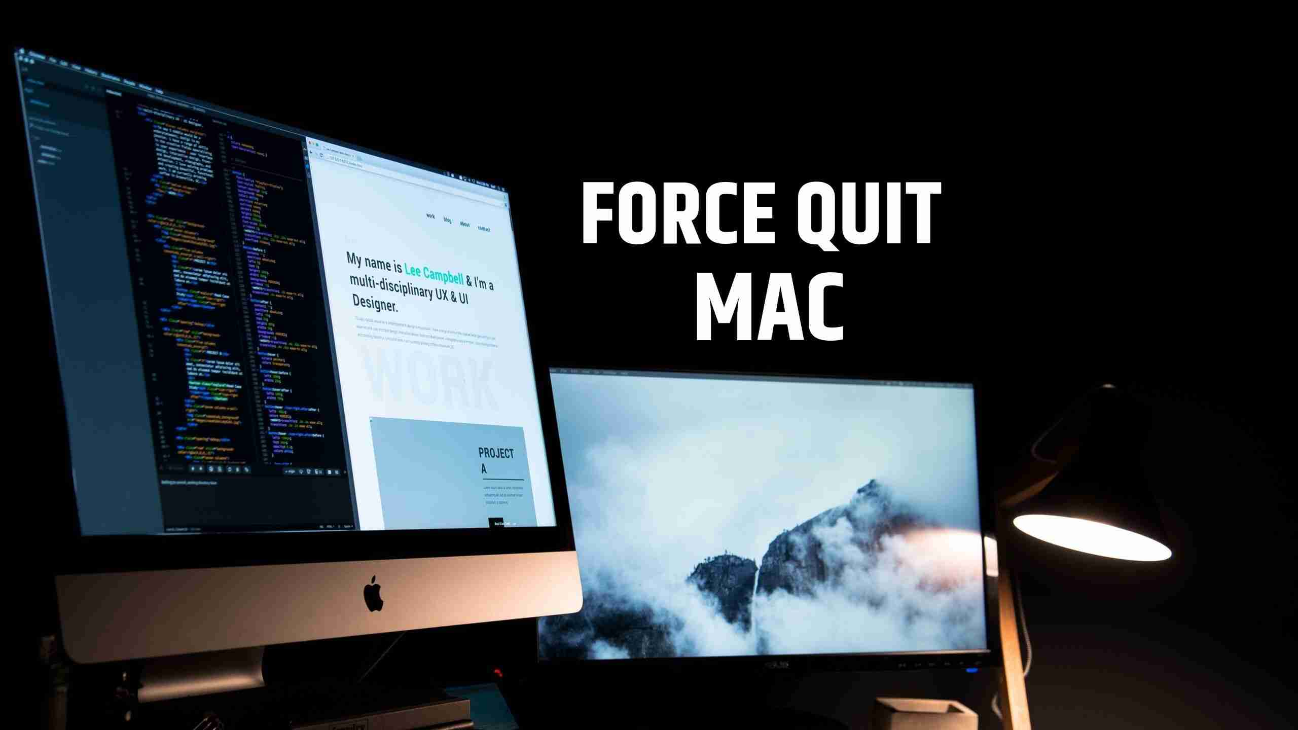 Force Quit Mac