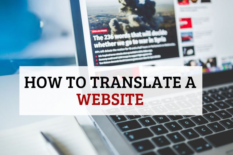 Translate-a-website