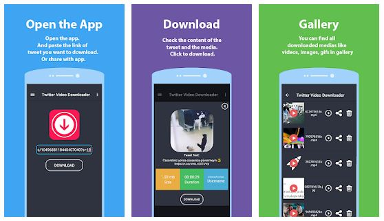 Video Downloader for Twitter Android 2