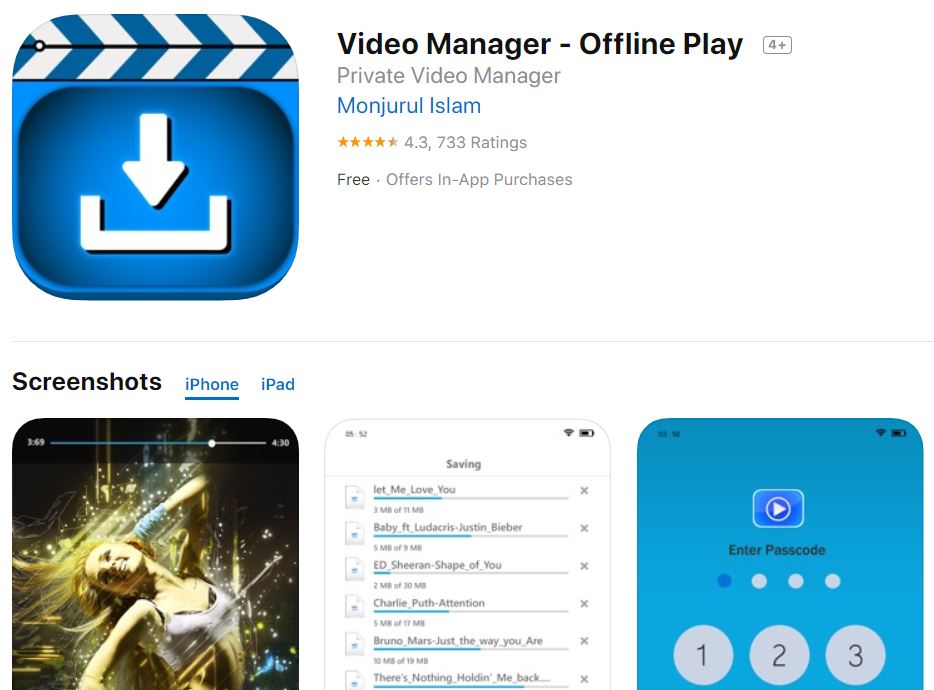 Video Manager