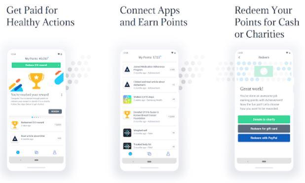 Achievement rewards App