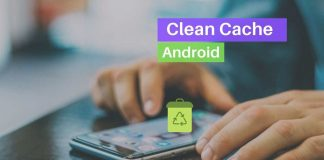 Clean cache on Android