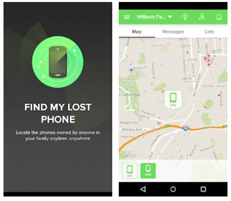 Find my phone - Android App