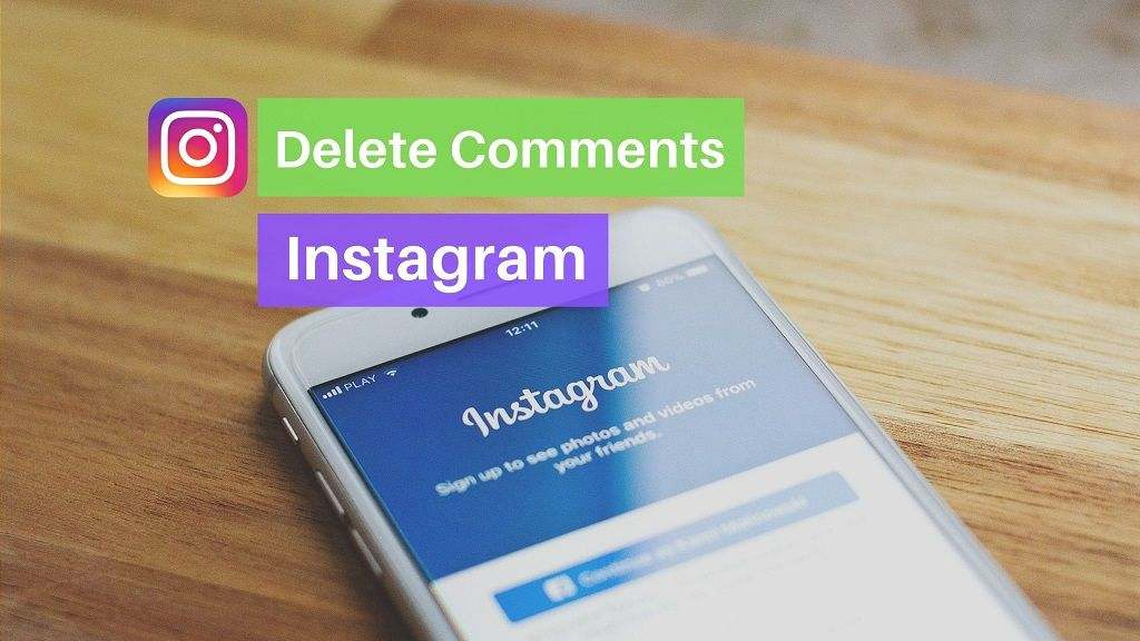 How to Delete comment on Instagram