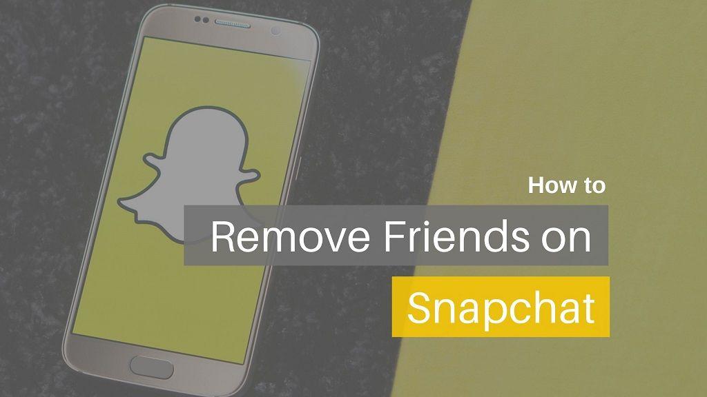 Remove Snapchat Friends cover