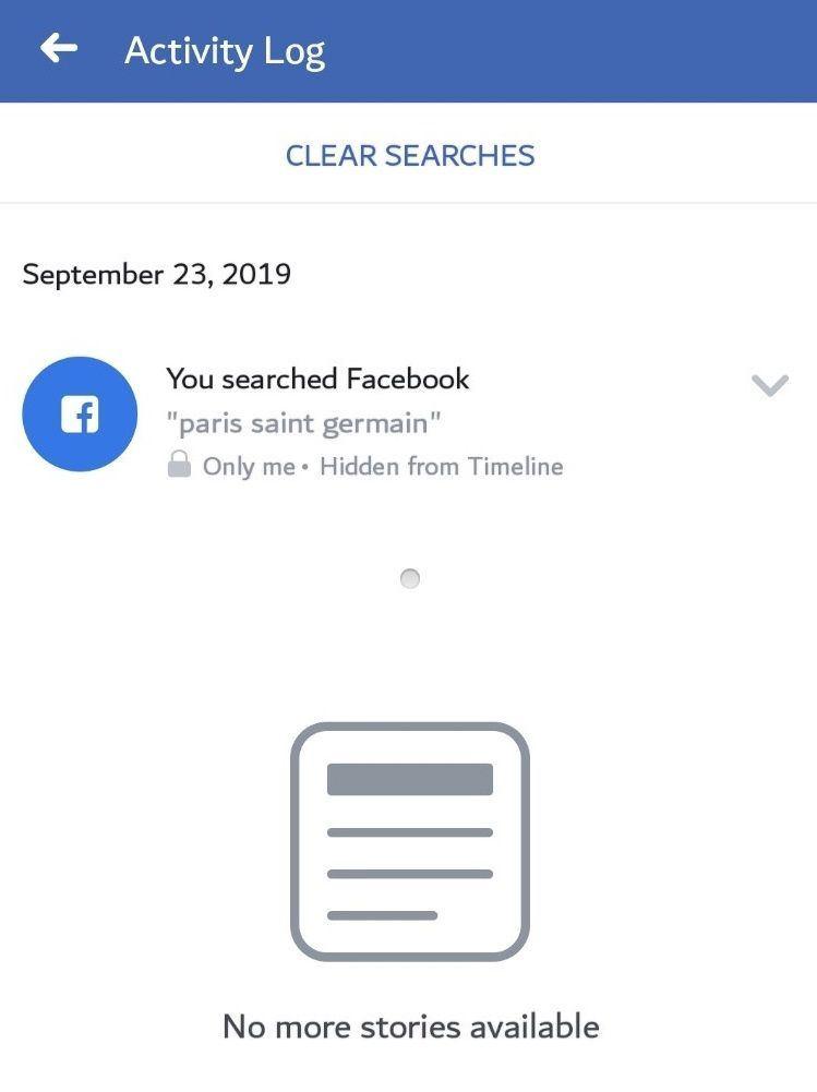 make FB search private