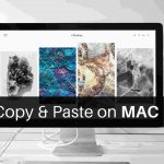 How to Copy Paste in MAC PC?