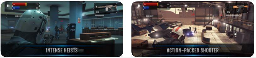 Armed Heist Shooting Game iPhone