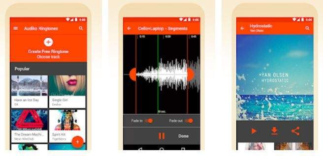 Audiko ringtones, notifications and alarm sounds